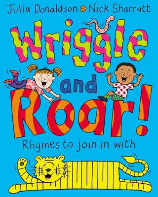 Book cover for Wriggle and Roar!